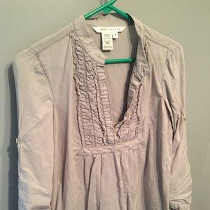 MAX STUDIO size small tunic shirt. Light green